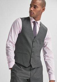 Next - Suit waistcoat - dark grey - 0