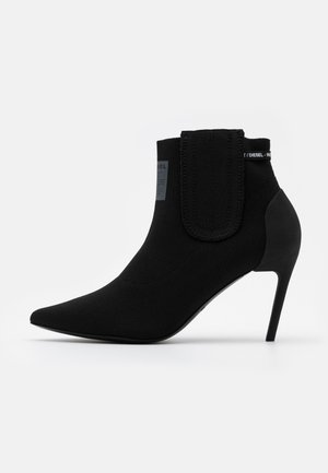 SLANTY D-SLANTY MASM BOOTS - High heeled ankle boots - black