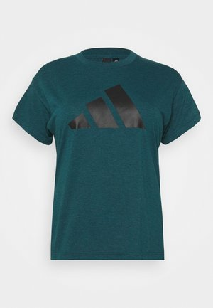 WIN TEE - Camiseta estampada - teal