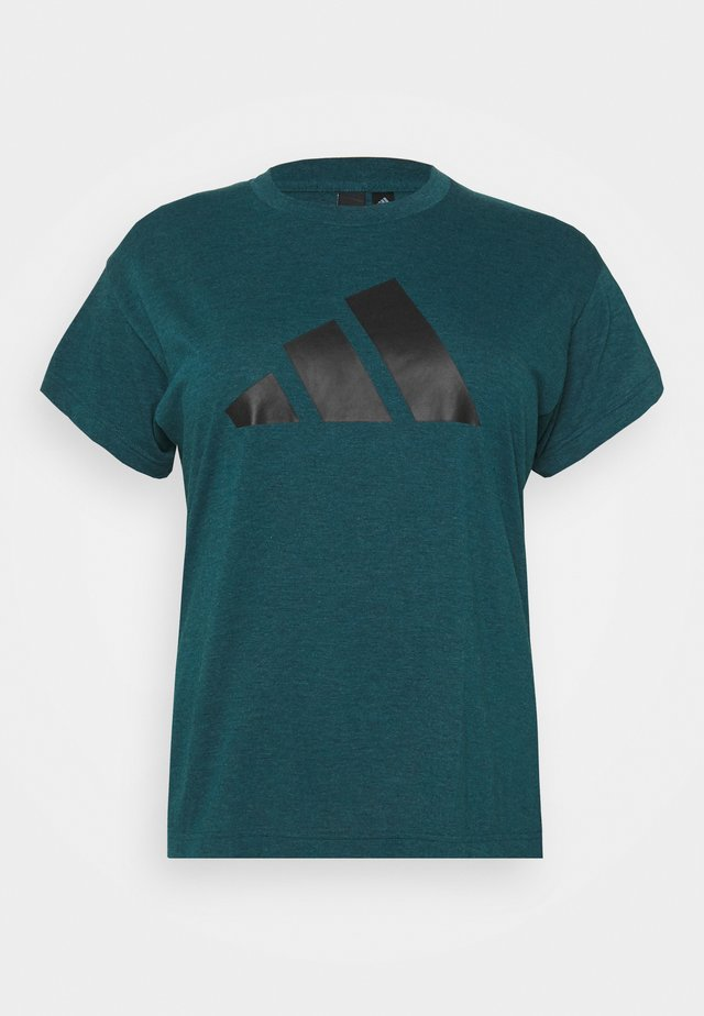 WIN TEE - T-shirt imprimé - teal