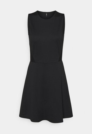 ONLNICOLA DRESS - Jersey dress - black