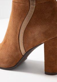 mint&berry - High heeled boots - cognac - 2