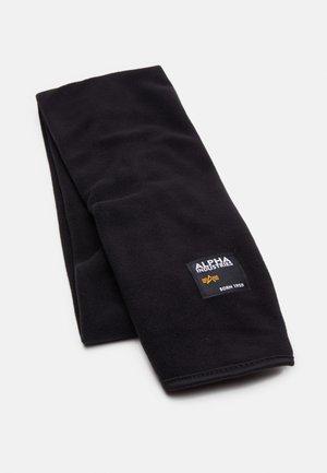 LABEL SCARF UNISEX - Sjaal - black