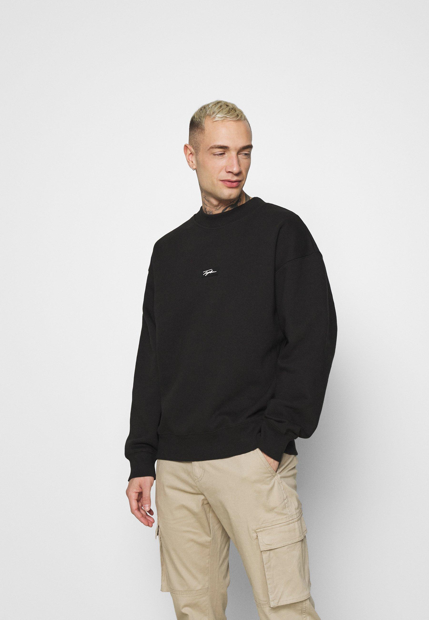 Homme HIGHNECK BADGE - Sweatshirt