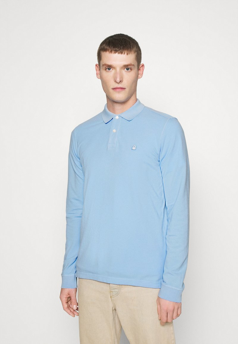 Benetton - Polo - light blue