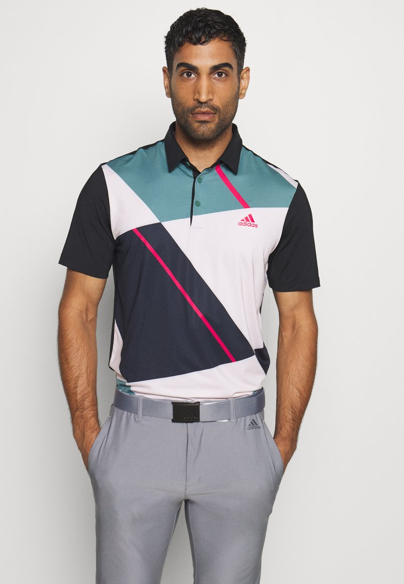 adidas Golf - ULTIMATE 365 SHORT SLEEVE  - Polo - black