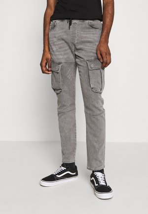 AUTHENTIC JOGGER - Cargobyxor - grey