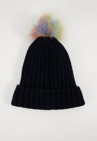 Maximo - KIDS GIRL MIT UMSCHLAG - Beanie - navy/multicolor - 1
