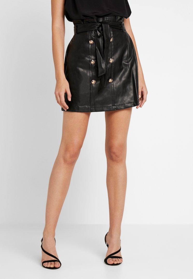 River Island - A-line skirt - black