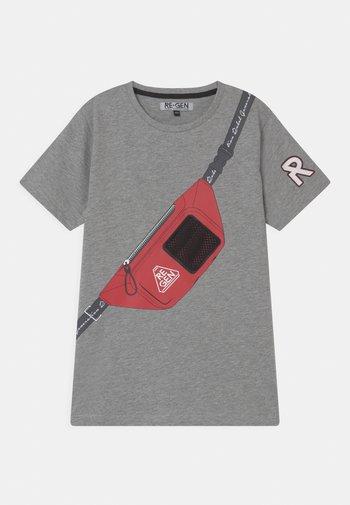 TEEN BOYS - Print T-shirt - grey melange