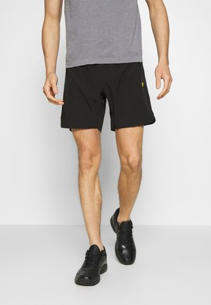 TRAINING SHORTS - Träningsshorts - true black