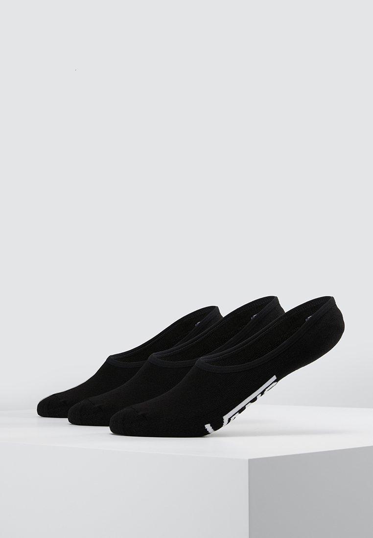 Vans - UA CLASSIC SUPER NO SHOW (6.5-9, 3PK) - Trainer socks - black