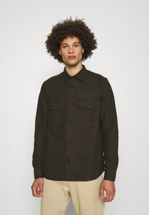 ONSMILO LIFE SOLID OVERSHIRT - Camisa - peat