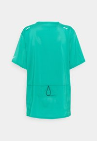 Nike Performance - RISE - Print T-shirt - neptune green/reflective silver - 1