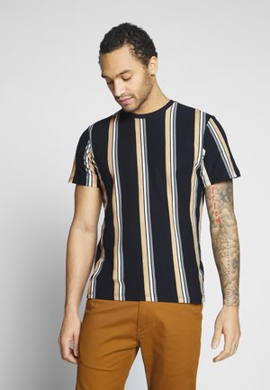 LUKE STRIPE - T-shirt print - navy