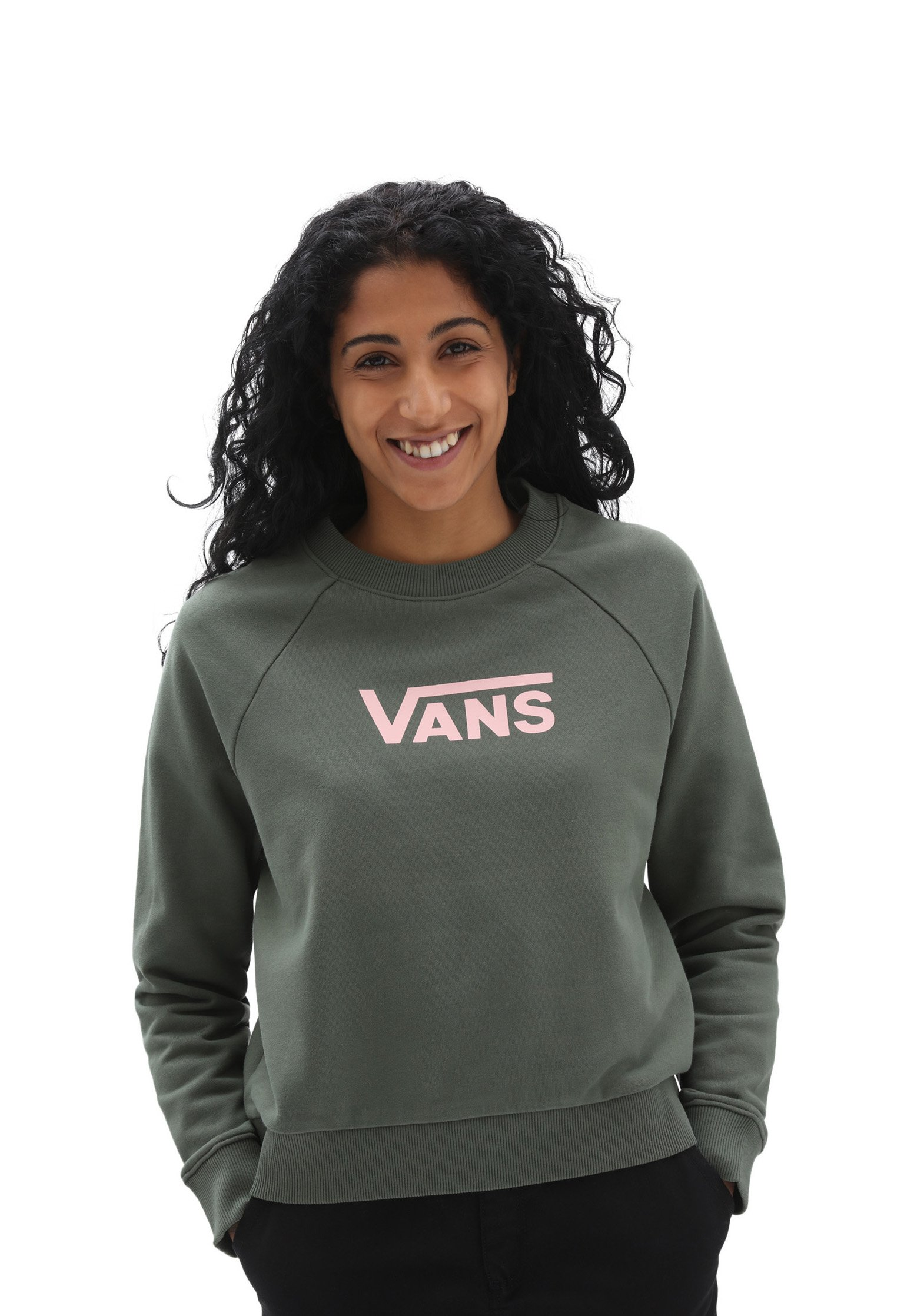 Femme WM FLYING V FT BOXY CREW - Sweatshirt