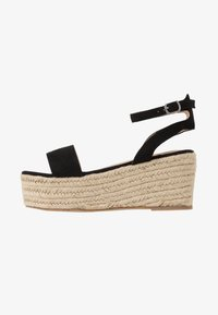Koi Footwear - VEGAN  - Espadrilky - black - 1