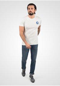 Solid - Slim fit jeans - blue dnm - 1