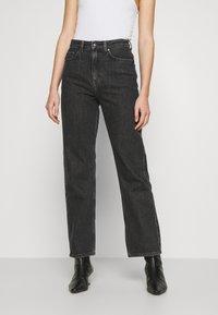 Weekday - ROWE - Straight leg jeans - nova black - 0
