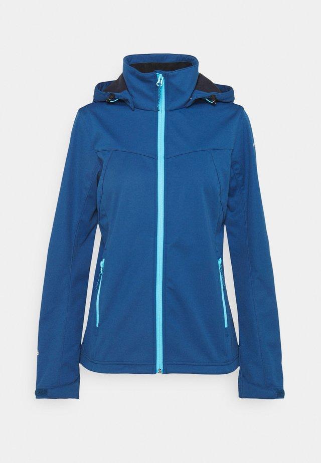 BOISE - Soft shell jacket - navy blue