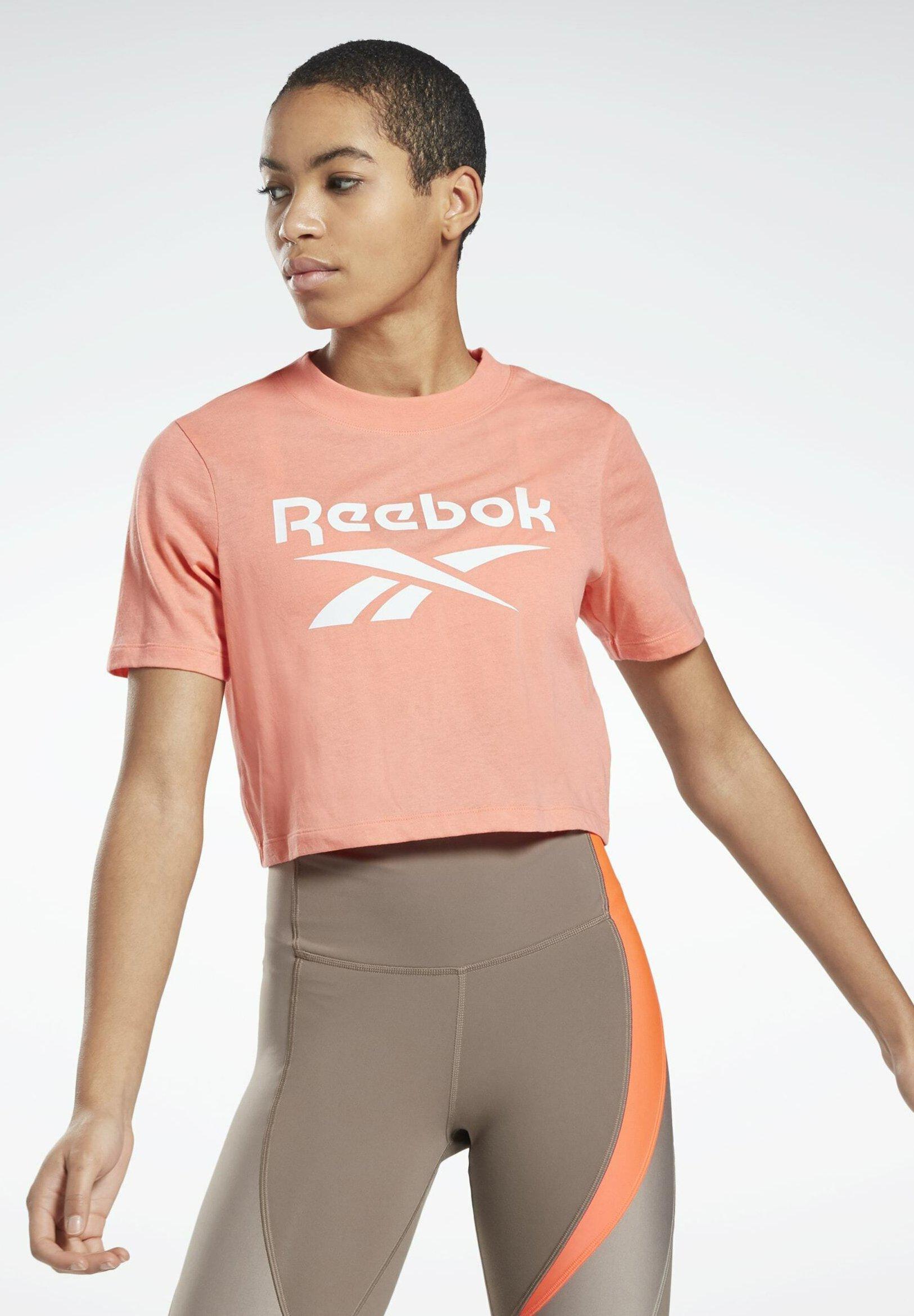 Women REEBOK IDENTITY CROPPED T-SHIRT - Print T-shirt