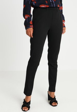 RONIE PANTS - Bukse - black deep