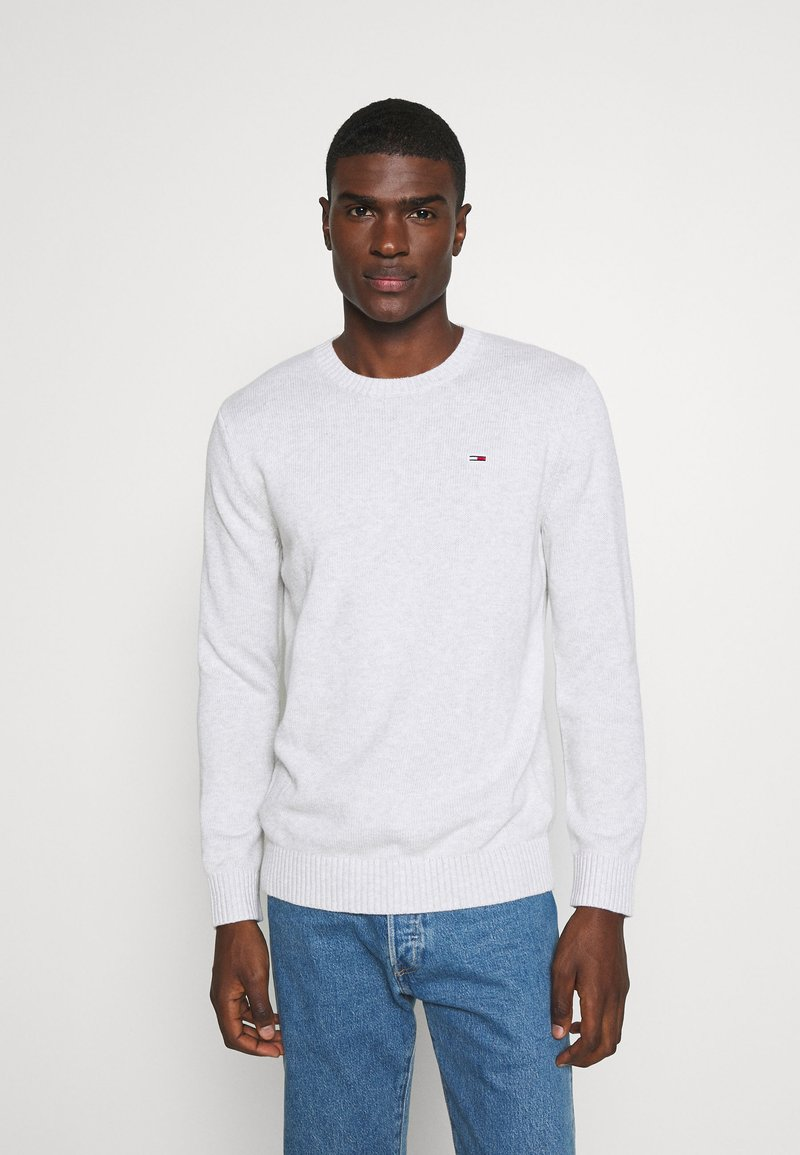 Tommy Jeans - ESSENTIAL  - Pullover - silver grey