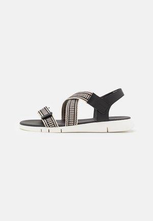 VITTORIA  - Sandaler - black/beige