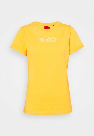 THE SLIM TEE - T-shirt con stampa - bright yellow