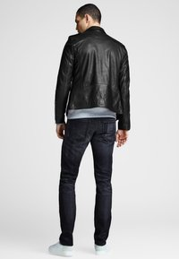 Royal Denim Division by Jack & Jones - Leather jacket - black - 2