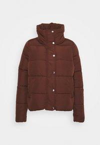 ONLCOOL PUFFER JACKET - Winter jacket - chocolate fondant