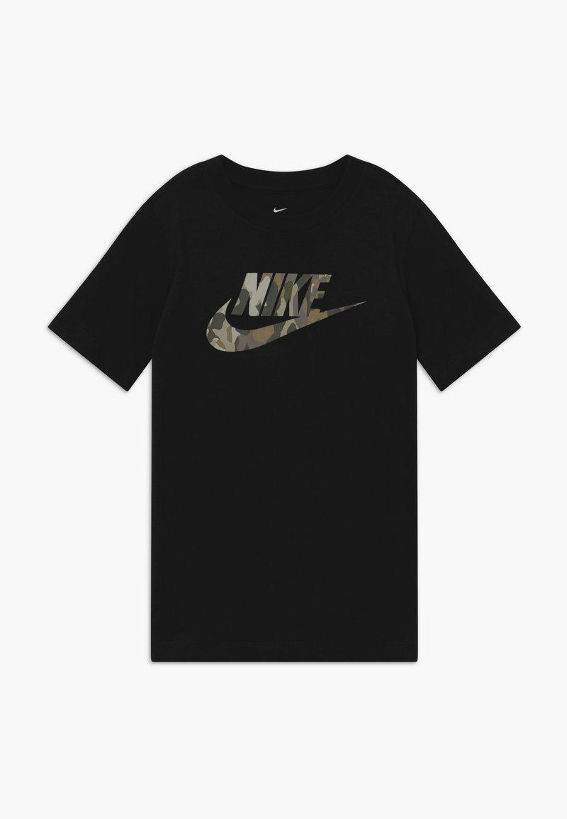 Nike Sportswear - TEE FUTURA CAMO - Print T-shirt - black