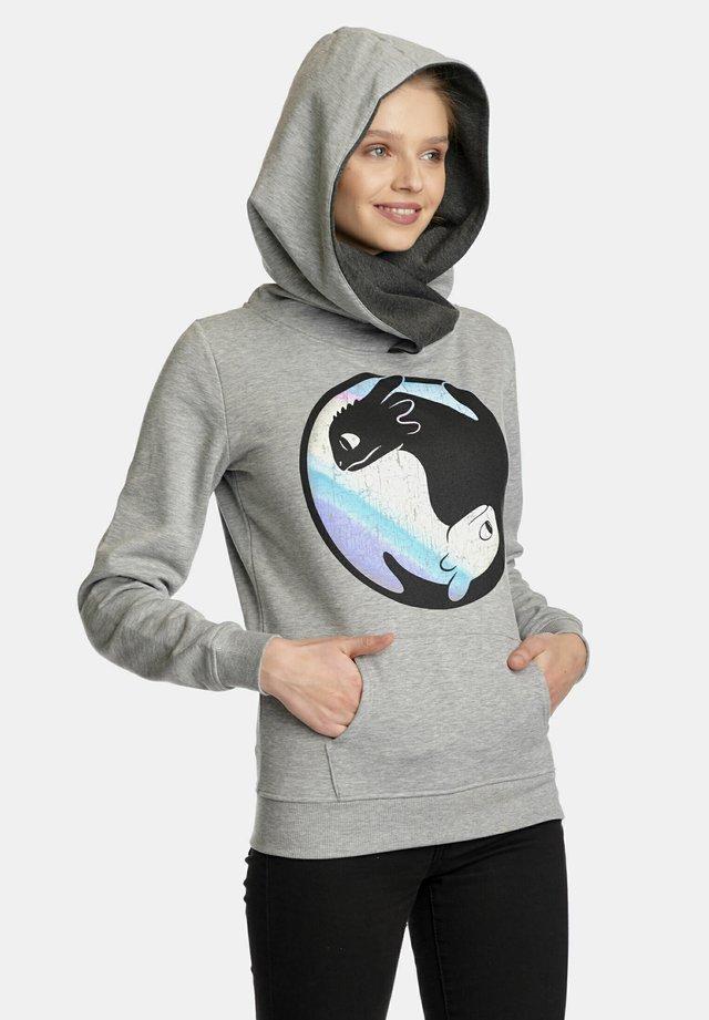 DRAGONS - Sweatshirt - grau meliert