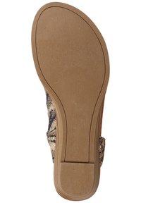 Blowfish Malibu - Ankle cuff sandals - tiger safari blanket/tobac dyecut - 3