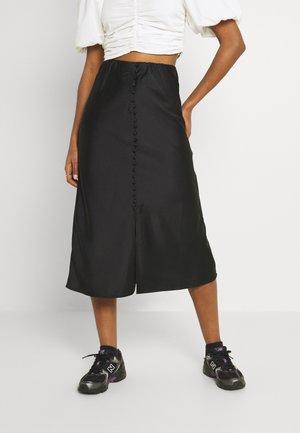 INA SKIRT - A-linjekjol - black