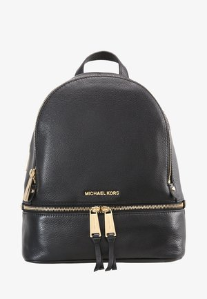 RHEA ZIP BACKPACK SMALL - Ryggsäck - black