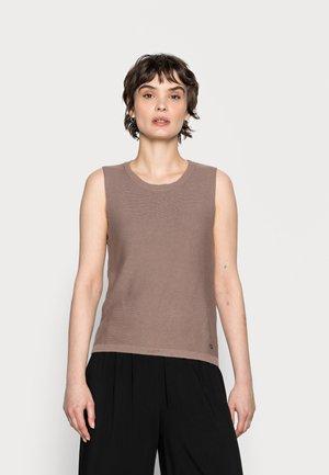 SILLAR SLIPOVER - Jumper - faded brown