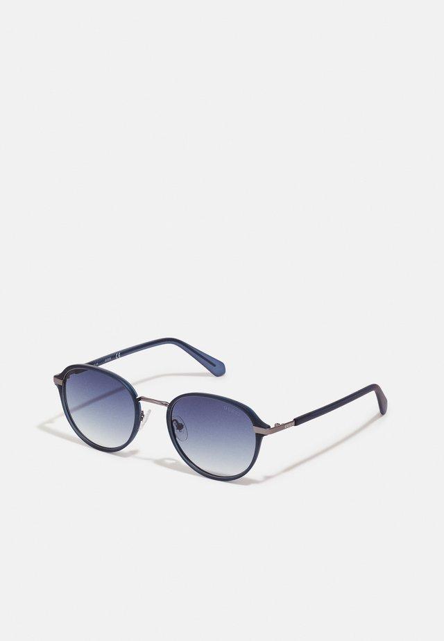 UNISEX - Sluneční brýle - matte crystal navy/blue