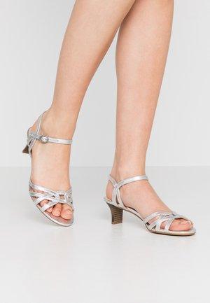 BIRKIN  - Sandals - silver