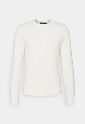 ANDY STRUCTURE C-NECK - Trui - cloud white