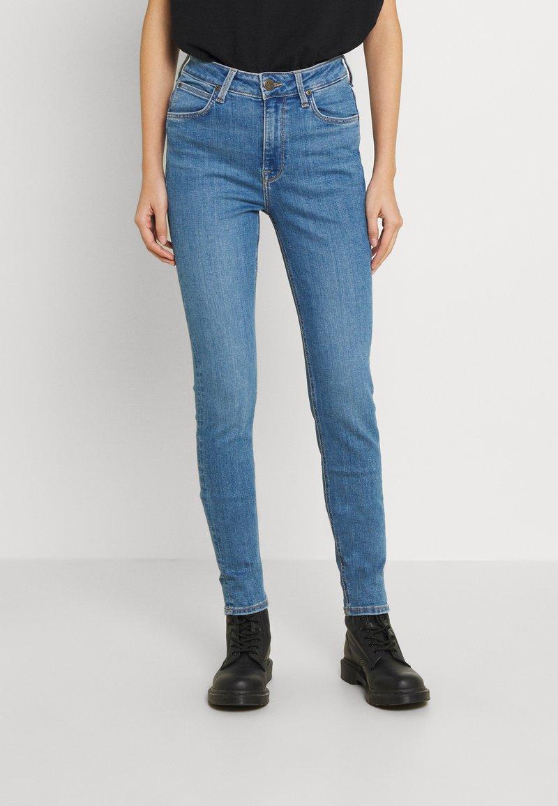 Lee - SCARLETT HIGH - Jeans Skinny Fit - mid lina