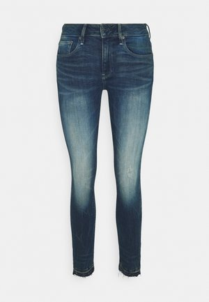 3301 MID SKINNY ANKLE - Jeans Skinny Fit - antic faded baum blue
