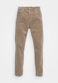 Weekday - SPACE TROUSERS - Trousers - dark beige - 3