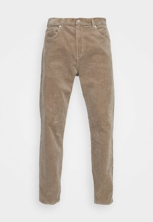 SPACE TROUSERS - Trousers - dark beige