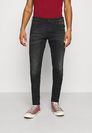 BRONNY - Jeans Tapered Fit - dark blue denim