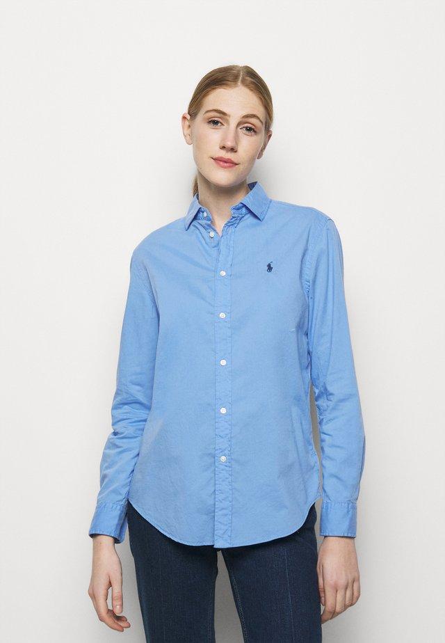 Button-down blouse - harbor island blu