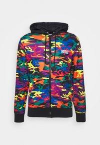 PRIDE BMOWT-BRANDONX-Z-P UNISEX - Zip-up sweatshirt - multi-coloured