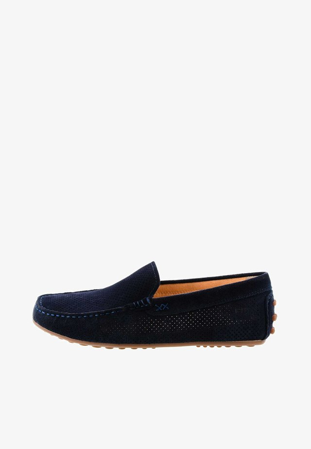 LIGURE - Mocassins - navy blue