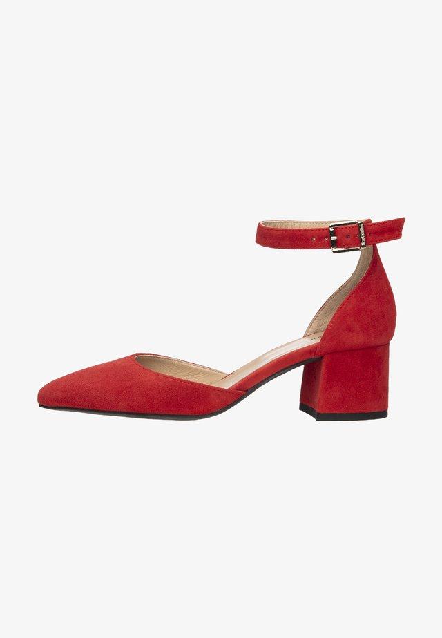 Classic heels - rosso
