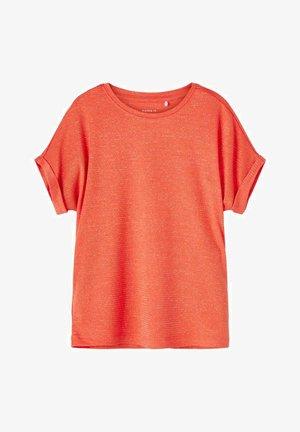 Basic T-shirt - persimmon